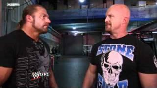 WWE Raw 4/4/11 - Triple H Crosses Paths With Tough Enough host Stone Cold Steve Austin *HD*WEBSITE - http://www.ewrestling.news/FACEBOOK - https://www.facebook.com/eWrestlingNewsTVTWITTER - https://twitter.com/eWrestlingNews_