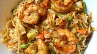 Easy & Tasty Shrimp Ramen Noodles