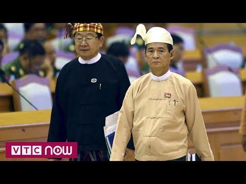 Myanmar đã bầu tân Tổng thống | VTC1 - Thời lượng: 64 giây.