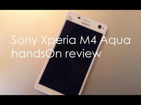 Sony Xperia M4 Aqua handsOn review and First Impression