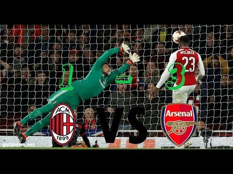 Arsenal vs Milan 3-1 - All Goals & Extended Highlights - 3\2018