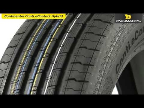 Youtube Continental Conti.eContact Hybrid 225/50 R17 98 V XL ContiSilent Letní