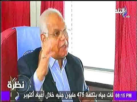 وزير النقل فى حوار خاص مع حمدى رزق