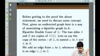 Mod-01 Lec-03 More On Hall's Theorem And Some Applications