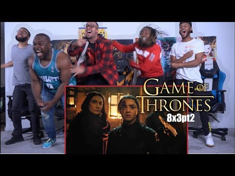 """ARYA!! Game of Thrones 8x3 """"The Lone Night"""" GROUP REACTION/REVIEW PART 2"""