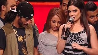 وداع المتسابقين لفريق Les Bledards Ninja وكلمات الحكام لهم - الحلقة الثانية - The XTRA Factor 2013