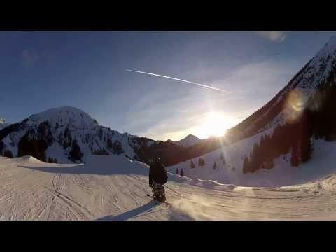 Snowboarding with Go Pro Hero 3 Black Edidion (and Go Pro Hero 2) (видео)