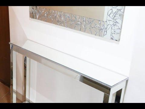 DIY | Mirrored Console Table (DIY Room Decor Ideas )