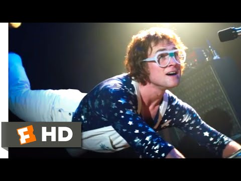 Rocketman (2019) - Crocodile Rock Scene (2/10) | Movieclips