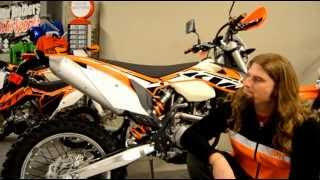 9. 2013 KTM 500 EXC (Orange) Dillon Brothers Motorsports Video Overview