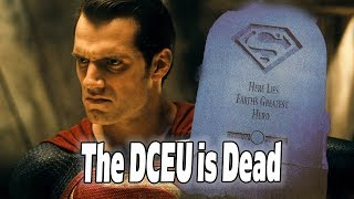 Henry Cavill Superman Out as Superman CONFIRMED: The DCEU is Dead...