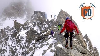 Whiteout At 3,800m In Chamonix | Climbing Daily Ep. 964 by EpicTV Climbing Daily