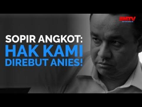 Supir Angkot: Hak Kami Direbut Anies!