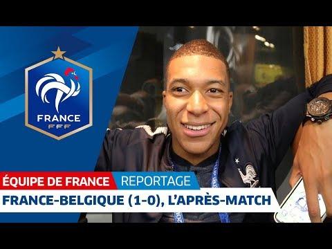 Video Equipe de France : Dans le bus des Bleus après France-Belgique (1-0) I FFF 2018 download in MP3, 3GP, MP4, WEBM, AVI, FLV January 2017