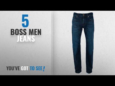 Top 10 Boss Men Jeans [ Winter 2018 ]: Hugo Boss Mens C-Maine1 Stretch Denim Jeans (38X32)