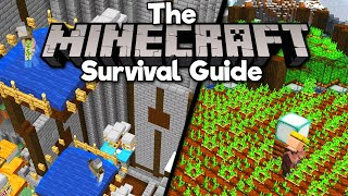 Fixing the Iron Farm & Expanding The Crop Farm! • The Minecraft Survival Guide [Part 209]