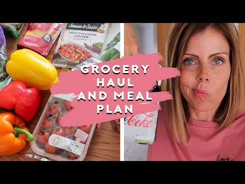 FAMILY GROCERY HAUL & MEAL PLAN - TESCOS JULY 2019