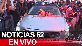 Gigantesca procesión del carro fúnebre del rapero Nipsey Hussle. – Noticias 62. - Thumbnail