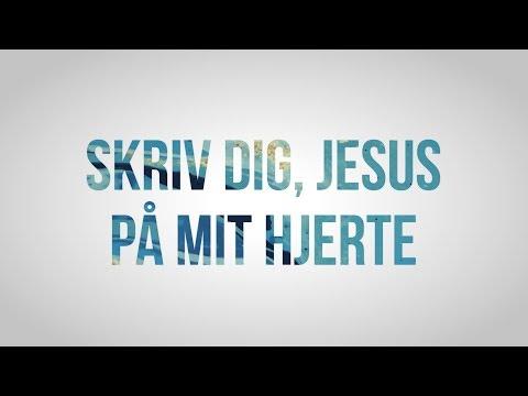 Hør Skriv dig, Jesus, på mit hjerte // Å-festival på youtube