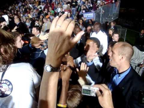 Barack Obama - Springfield, Missouri - 11/1/08