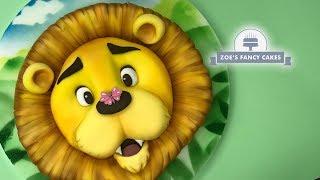 Lion cake tutorial birthday cakes. great cake ideas, safari