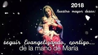 ¡Celebremos juntos esta navidad! EVANGELIZANDO DE LA MANO DE MARÍA
