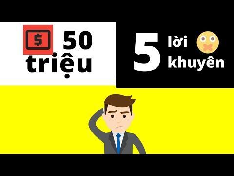 50 Triệu và 5 Lời Khuyên Tạo Động Lực – Bạn Chọn Cái Nào? - Thời lượng: 27 phút.