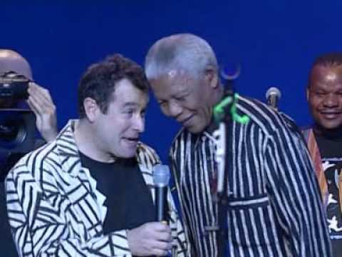 Johnny Clegg (With Nelson Mandela) - Asimbonanga -