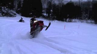 6. Polaris Fusion 600 and Yamaha Phazer FX - Jumps and Wheelies