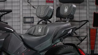 6. Can-Am Spyder F3 Custom Aftermarket Seats by Ultimate