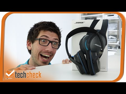 Bose QC 25 mit Noise Cancelling im Test - Techcheck - 4K