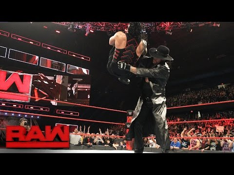 Roman Reigns has a chilling encounter with The Undertaker: Raw, March 6, 2017
