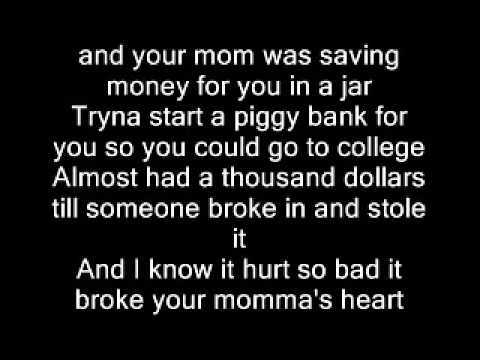 Eminem   Mockingbird Lyrics (видео)