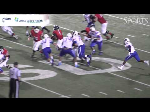 The Woodlands vs. Oak Ridge Football Highlights - October 24, 2014