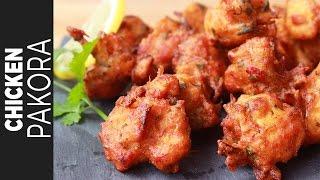 চিকেন পাকোড়া   Chicken Pakora   Crispy Chicken Pakora Recipe Bangla   চিকেন বড়া
