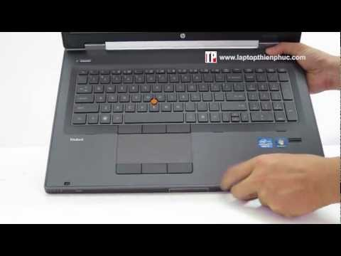 HP EliteBook 8760w review p2