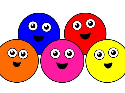 Colors - This Long-Play 33 Minute Video Teaches Children the Color Names with Catchy Song Melodies, Chants and Lessons starring our Famous Cute Characters and Colorfu...