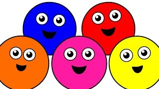 Teaching Children the Color Names with Catchy Songs