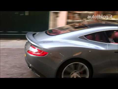 Aston Martin Vanquish   Possible Successor To DBS | Teaser Video