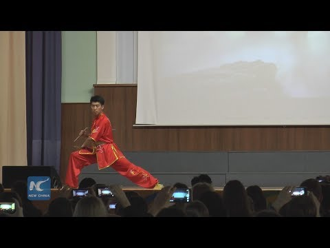Chinese martial arts wow Russian audience
