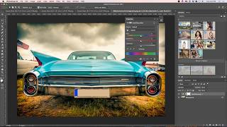photoshopCAFE Live Stream: Changing colors of objects without making selections