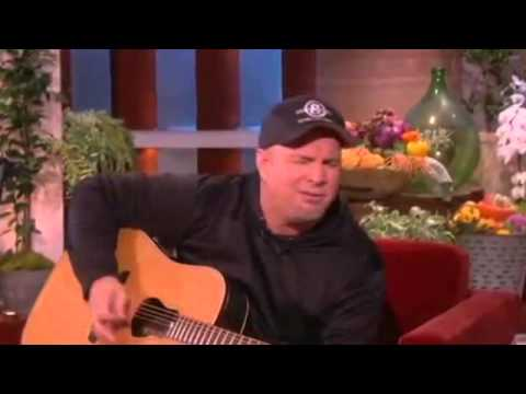 Garth and Ellen Sing Along on Ellen show