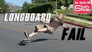 Longboarding Fail Compilation 2013
