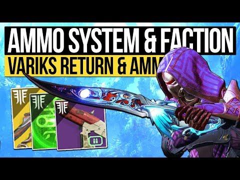 Destiny 2 News | BIGGEST DLC & NEW AMMO SYSTEM! Variks Returns, New Strikes, Factions & Power Boost! (видео)