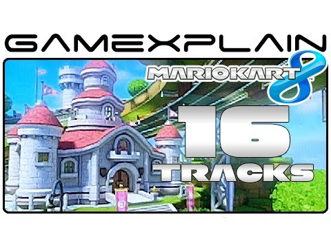 Mario - http://www.GameXplain.com You asked for it, so here it is: a compilation of all of our Mario Kart 8 gameplay footage showcasing a full-lap for each of the fi...