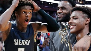 LeBron James Wants People To STOP Asking About Bronny's NBA Future My Son Is in 9th Grade, Man by Obsev Sports