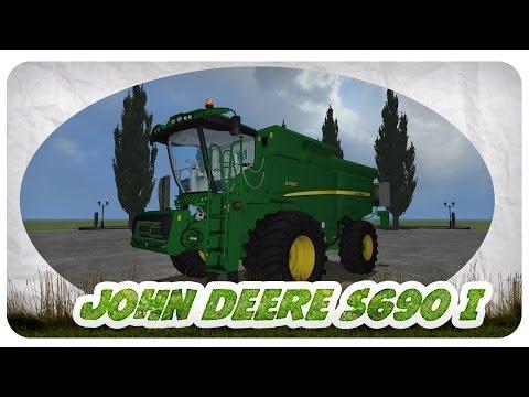 John Deere S690i Mod für Landwirtschafts Simulator 2013