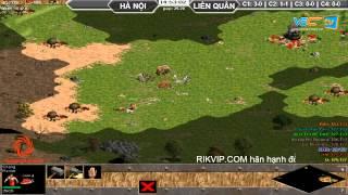 4vs4 Hà Nội, vs Liên Quân, 29/8/2015, - C2T3, game đế chế, clip aoe, chim sẻ đi nắng, aoe 2015