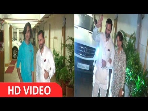 Star Studded Birthday Party Of Superstar Saif Ali Khan