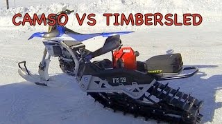 7. TS 96 - Camso VS Timbersled - Tested the Camso snow bike